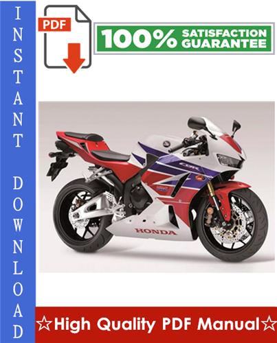 Thumbnail Honda CBR600RR Motorcycle Workshop Service Repair Manual 2007-2008 Download