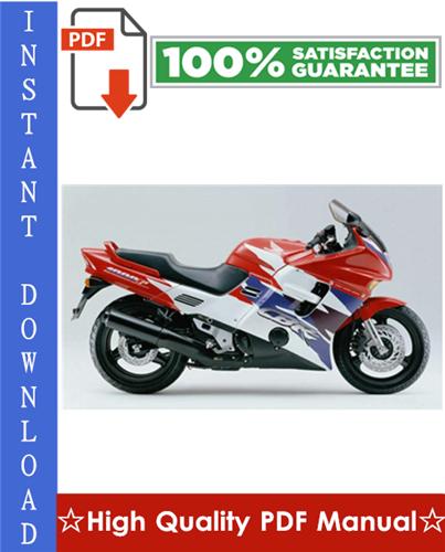 Thumbnail Honda CBR1000F Motorcycle Workshop Service Repair Manual 1992-1995 Download