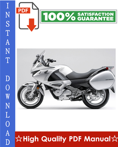 Thumbnail Honda NT700V / NT700VA Workshop Service Repair Manual 2005-2007 Download