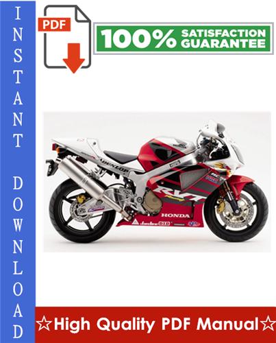 Thumbnail Honda RVT1000R RC51 Motorcycle Workshop Service Repair Manual 2000-2002 Download