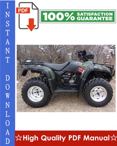 Thumbnail Honda TRX500FA Rubicon ATV Workshop Service Repair Manual 2001-2003 Download