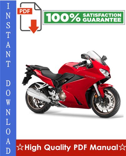 Thumbnail Honda VFR750F Motorcycle Workshop Service Repair Manual 1990-1996 Download
