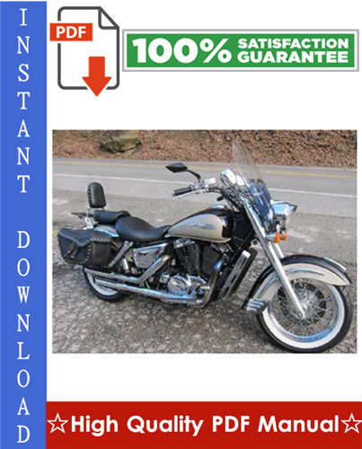 Thumbnail Honda Vt1100c3 Shadow Aero Motorcycle Workshop Service Repair Manual 1998-2002 Download