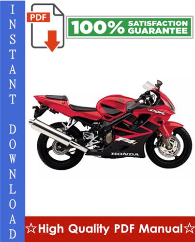 Thumbnail Honda CBR600F4i Motorcycle Workshop Service Repair Manual 2001-2003 Download