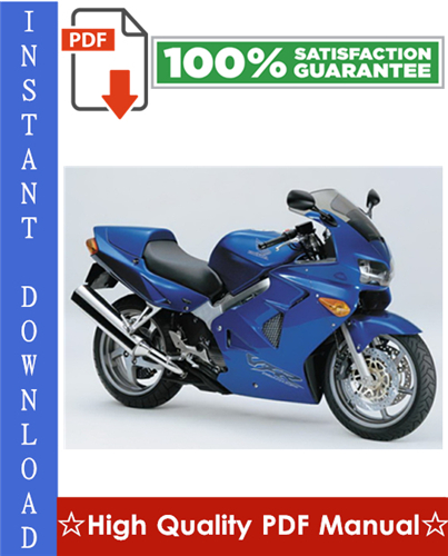 Thumbnail Honda VFR800FI Interceptor Workshop Service Repair Manual 1998-2001 Download