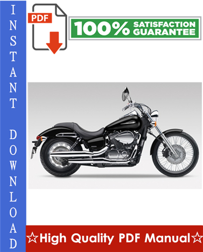 Thumbnail Honda VT750DC Shadow Spirit Workshop Service Repair Manual 2001-2003 Download