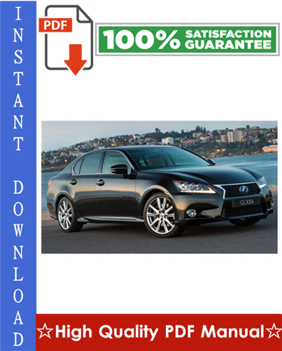 Thumbnail Lexus ES300 Workshop Service Repair Manual 1997-1998 Download