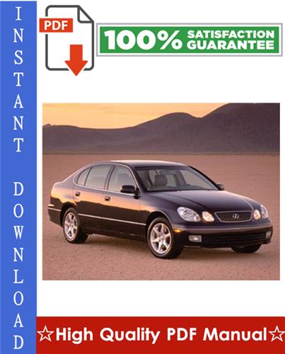 Thumbnail 2000 Lexus GS300 / GS400 Workshop Service Repair Manual