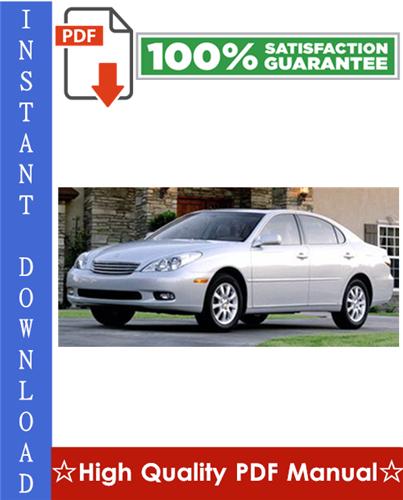 Thumbnail Lexus ES300 Workshop Service Repair Manual 1993-1997 Download