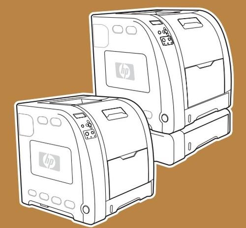 hp color laserjet 3500 3550 3700 series printers service repair m rh tradebit com hp color laserjet 3550 price HP Color LaserJet Multifunction Printer