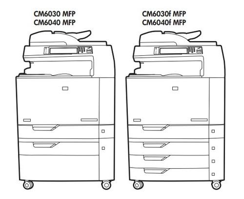 Hp Color Laserjet Cm6030    Cm6040 Mfp Series Service Repair Manual