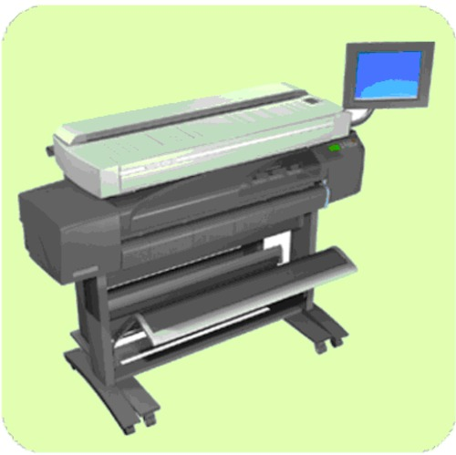 HP DesignJet copier cc800ps, HP DesignJet 815mfp, HP DesignJet scanner 4200  Service Repair Manual