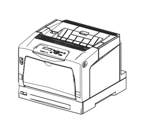 fuji xerox docuprint c3055  c3055dx color laser printer