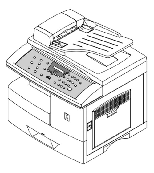 Pay for Xerox WorkCentre Pro 412 Printer Service Repair Manual