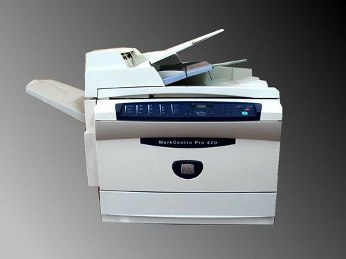Xerox Workcentre Pro 420 Laser Printer Service Repair