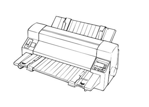 epson dlq 3000 24 pin dot matrix printer service repair manual d rh tradebit com Daisy Wheel Printer dot matrix printer repair manual