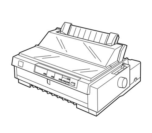 epson fx 980 impact serial dot matrix printer service repair manual
