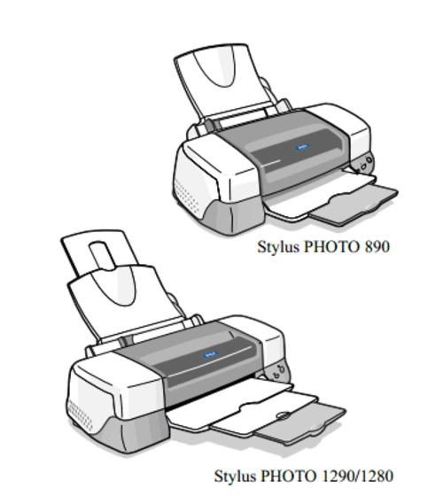 epson stylus photo 890 1280 1290 color inkjet printer service repai rh tradebit com Epson 1280 Driver Epson 12 X 12 Printer