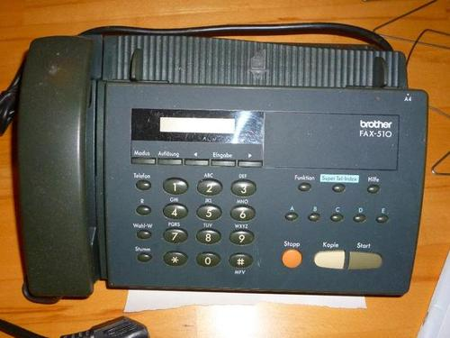 Pay for Brother Facsimile Equipment FAX510 / FAX510 Plus / HOME FAX / HOME FAX2 Parts Reference List