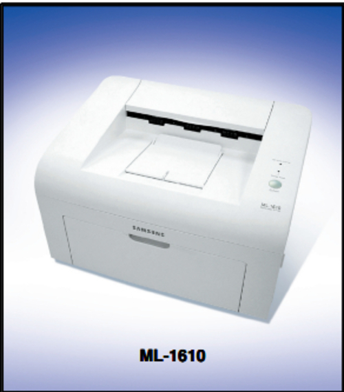 samsung ml 1600 series ml 1610 xaa laser printer service repair man. Black Bedroom Furniture Sets. Home Design Ideas