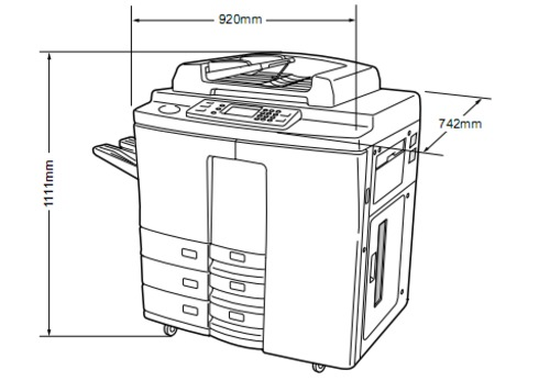 Pay for TOSHIBA 8070/6570/5570/4580 DIGITAL PLAIN PAPER COPIER Service Repair Manual
