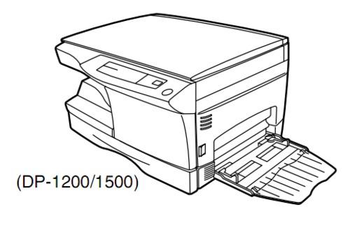 Pay for TOSHIBA DP1200, DP1500 DIGITAL PLAIN PAPER COPIER Service Repair Manual