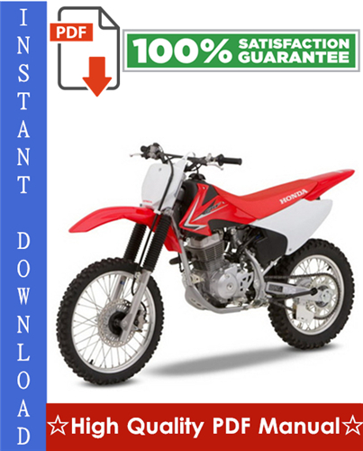 Honda Crf150f Workshop Service Repair Manual 2003