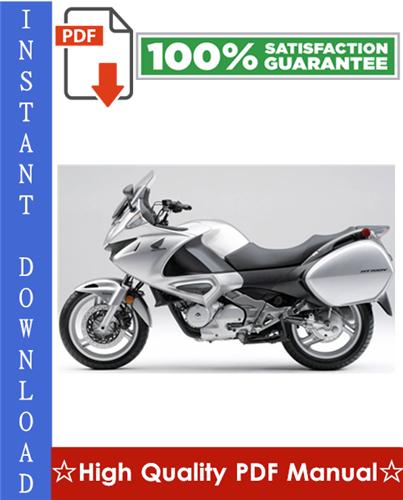 Honda Nt700v    Nt700va Workshop Service Repair Manual 2005