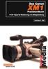 Thumbnail Das Canon XM1 Camcorder Handbuch