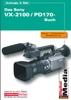 Thumbnail Das Buch zu VX-2100 / PD170 Sony Camcorder