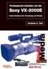 Thumbnail Das Profi-Buch zum Sony VX-2000E / PD150 Camcorder