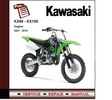 Thumbnail 2001 - 2010 Kawasaki KX85 + KX100  Service Repair Manual