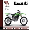 Thumbnail 2008 - 2010 Kawasaki KLX450R KLX450 R  Service Repair Manual