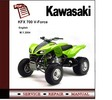 Thumbnail 2004 Kawasaki KFX700 KFX700V V-Force Service Repair Manual