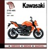 Thumbnail 2007 - 2008 Kawasaki Z750 ABS Service Repair Manual