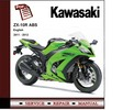 Thumbnail Kawasaki ZX-10R ZX10R 2011 - 2012 Workshop Service Manual