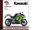 Thumbnail 2011 - 2012 Kawasaki Ninja Z1000SX ABS Service Repair Manual