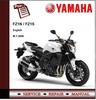 Thumbnail Yamaha FZ1 FZ1N FZ1S Fazer 2008 Workshop Service Manual