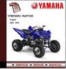 Thumbnail Yamaha YFM700RV YFM700 RAPTOR 05-06 Workshop Service Manual