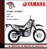 Thumbnail Yamaha XT250 XT250X XT250XC 08 - 12 Workshop Service Manual