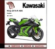 Thumbnail Kawasaki Ninja ZX-10R ABS 2013 Workshop Service Manual
