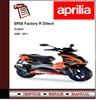 Thumbnail Aprilia SR50 Factory R Ditech 2008 - 2011 Workshop Manual