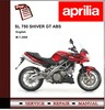 Thumbnail Aprilia SL 750 SHIVER GT ABS Workshop Repair Service Manual