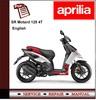 Thumbnail Aprilia SR Motard 125 4T Workshop Repair Service Manual