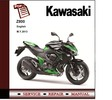 Thumbnail Kawasaki Z800 ABS 2013 Workshop Service Repair Manual