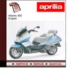Thumbnail Aprilia Atlantic 500 workshop service repair manual