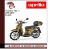 Thumbnail Scarabeo 100 4T 06-10 workshop service repair manual
