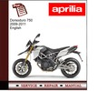 Thumbnail Dorsoduro 750 2009-2011 workshop service repair manual