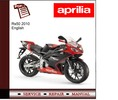 Thumbnail Aprilia Rs50 2010 workshop service repair manual