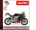 Thumbnail Aprilia Rs4 50 2011 workshop service repair manual